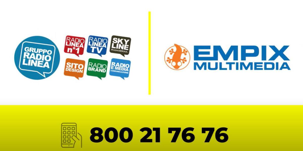 comunicazione multicanale con dillo facile, gruppo radio linea ed empix multimedia