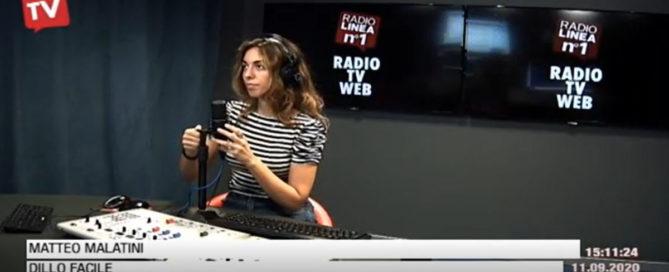 matteo malatini a dillo facile su radio linea con francesca travaglini per parlare di come vendere on line grazie a YouTube
