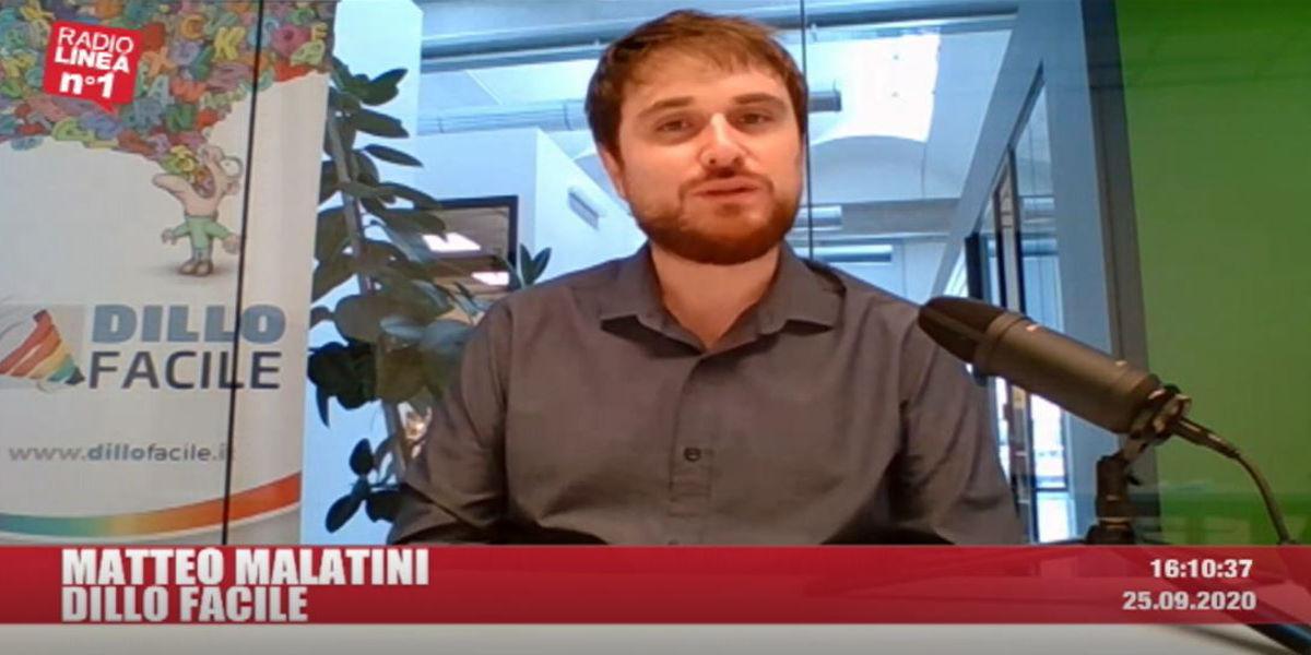 Matteo Malatini con Dillo Facile su Radio Linea n°1 per parlare delle 5 fasi del Processo di Acquisto On Line